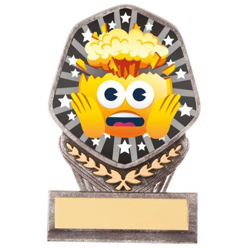 Falcon Emoji Head Blown Award 105mm